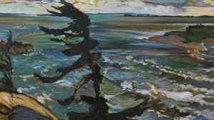 Frederick H. Varley's Stormy Weather, Georgian Bay.