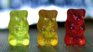 A woman in Cranbrook, B.C., and her teenage son are facing drug charges after the RCMP found Gummi Bears like these laced with LSD.