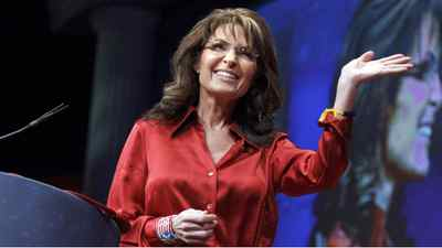 In this Feb. 11, 2012, file photo, former Alaska Gov. and GOP vice presidential candidate Sarah Palin delivers the keynote address to activists from America's political right at the Conservative Political Action Conference (CPAC) in Washington.