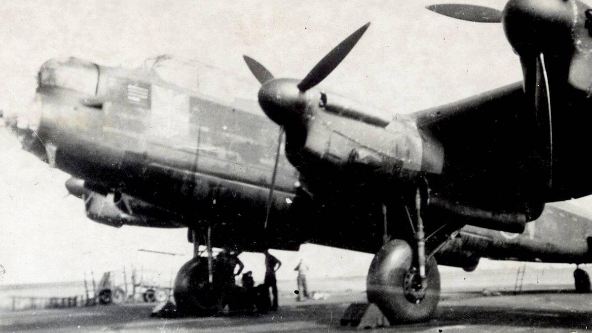 RCAF Flying Officer Don Cheney KC-V JB139