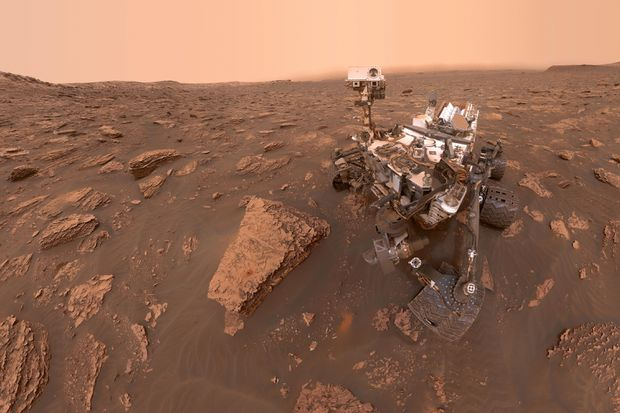 NASA Curiosity rover detects high levels of methane on Mars