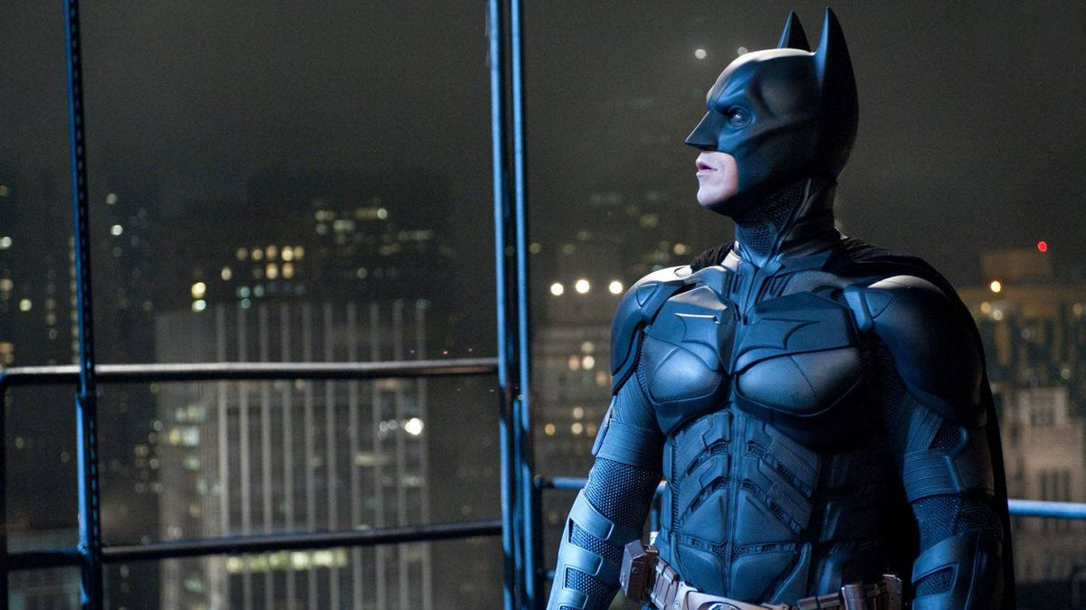 """Christian Bale portrays Bruce Wayne and Batman in a scene from """"The Dark Knight Rises."""""""