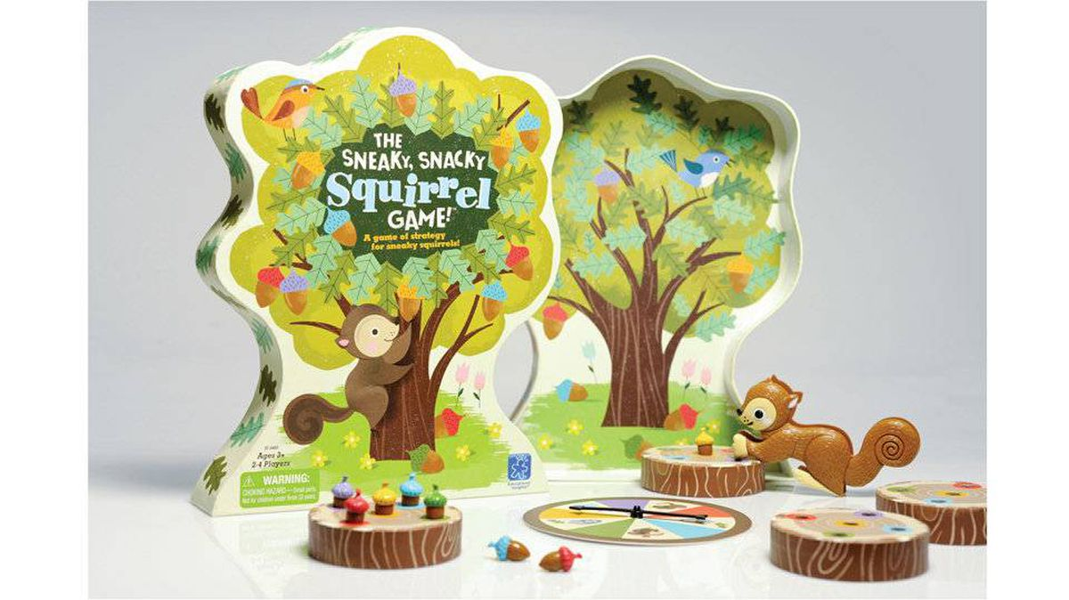 The Sneaky Snacky Squirrel Game is one board game the little kid on your list probably doesn't have. The goal is to match and sort coloured acorns and place them into a log before the squirrels get them – but our favourite part is how adorable it is. $19.99 (U.S.), educationalinsights.com
