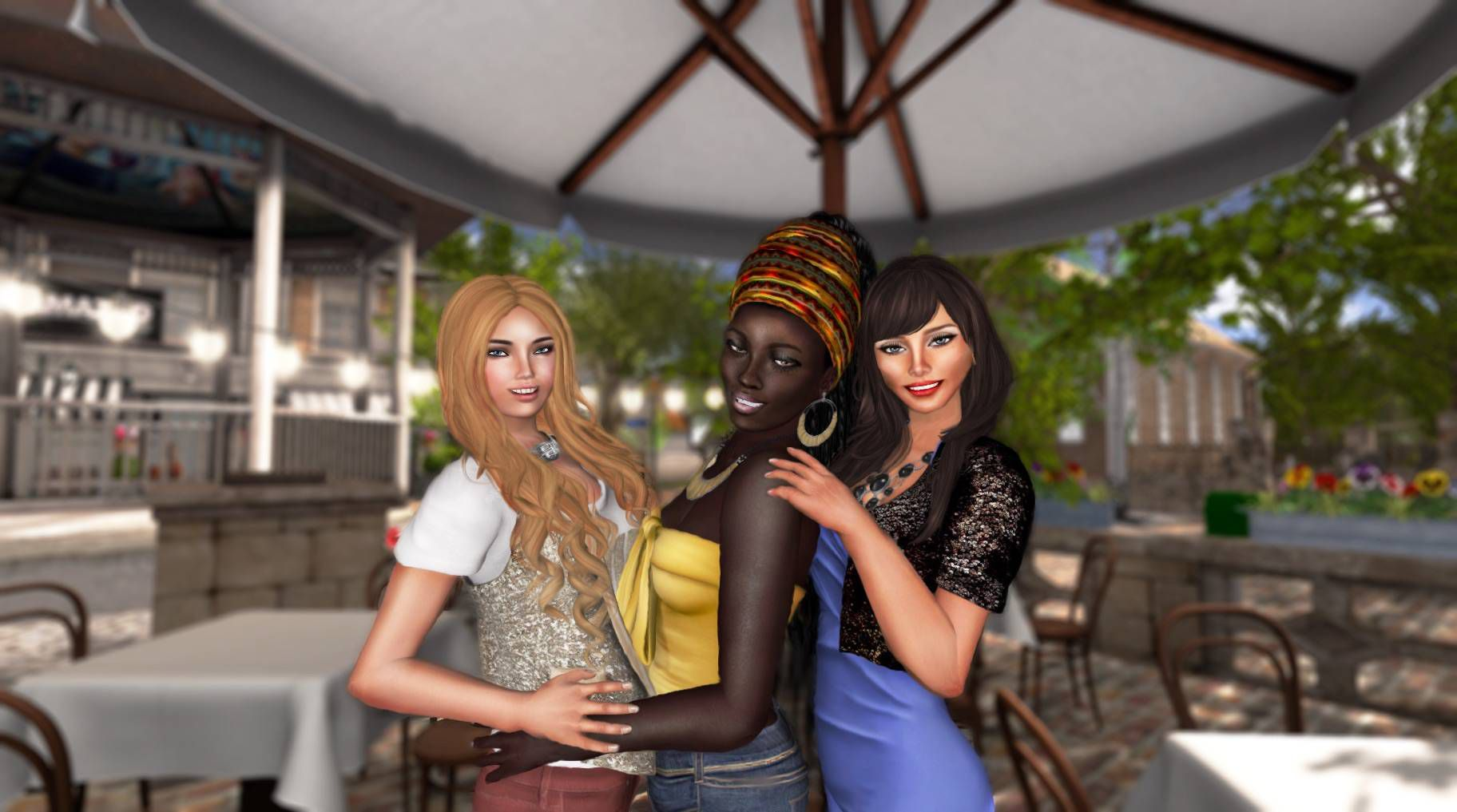 Who still hangs out on Second Life? More than half a million