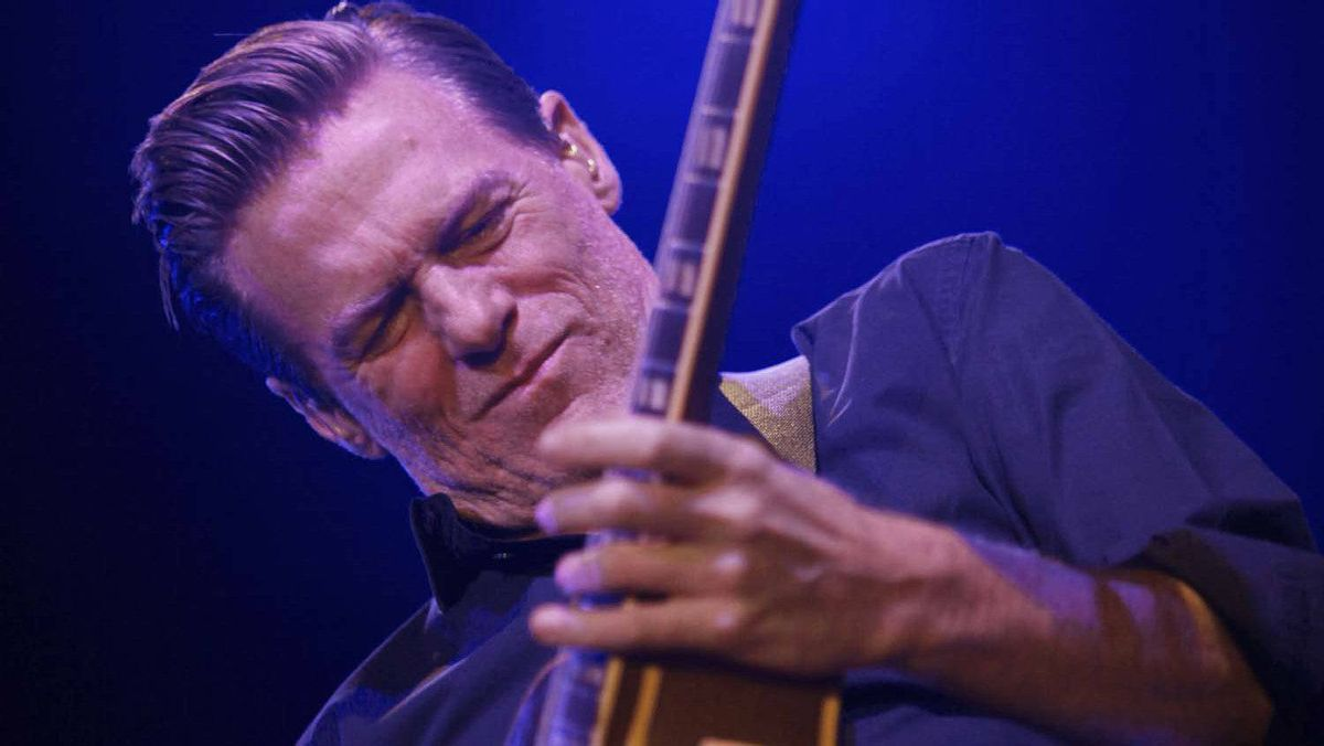 Bryan Adams performs during a concert in Beirut on Dec. 14, 2010.
