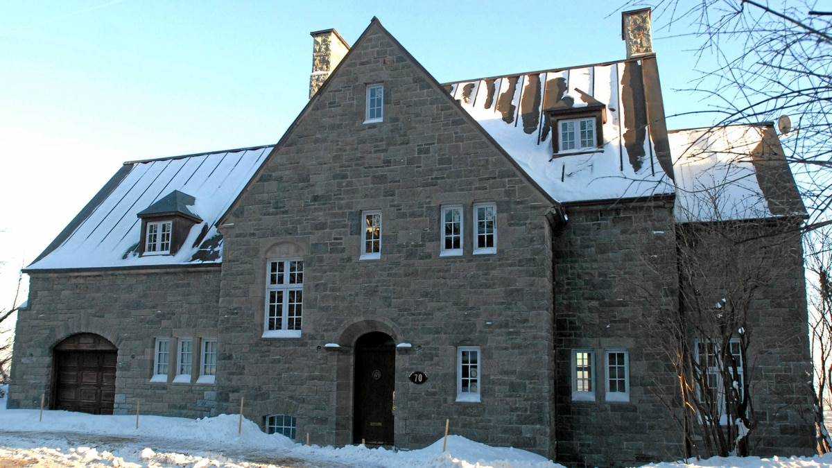 Mohamed Sakher El Materi owns, but has not yet moved into, a two-storey mansion in Montreal's Westmount area.