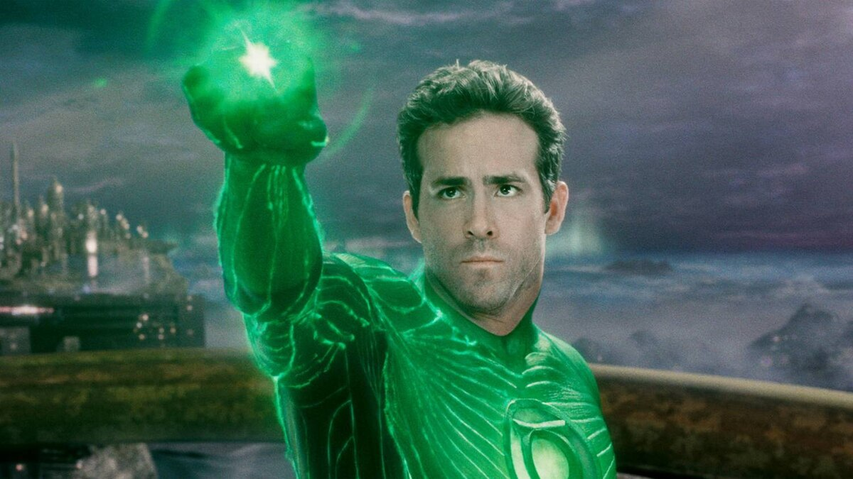 Ryan Reynolds as Green Lantern in Warner Bros. Pictures' action adventure of the same name.