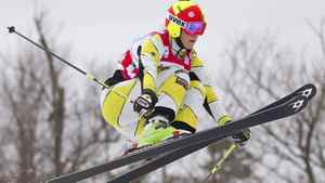 Marielle Thompson of Canada leads this year's world cup ski cross standings with two races remaining. FILE PHOTO: REUTERS/Geoff Robins
