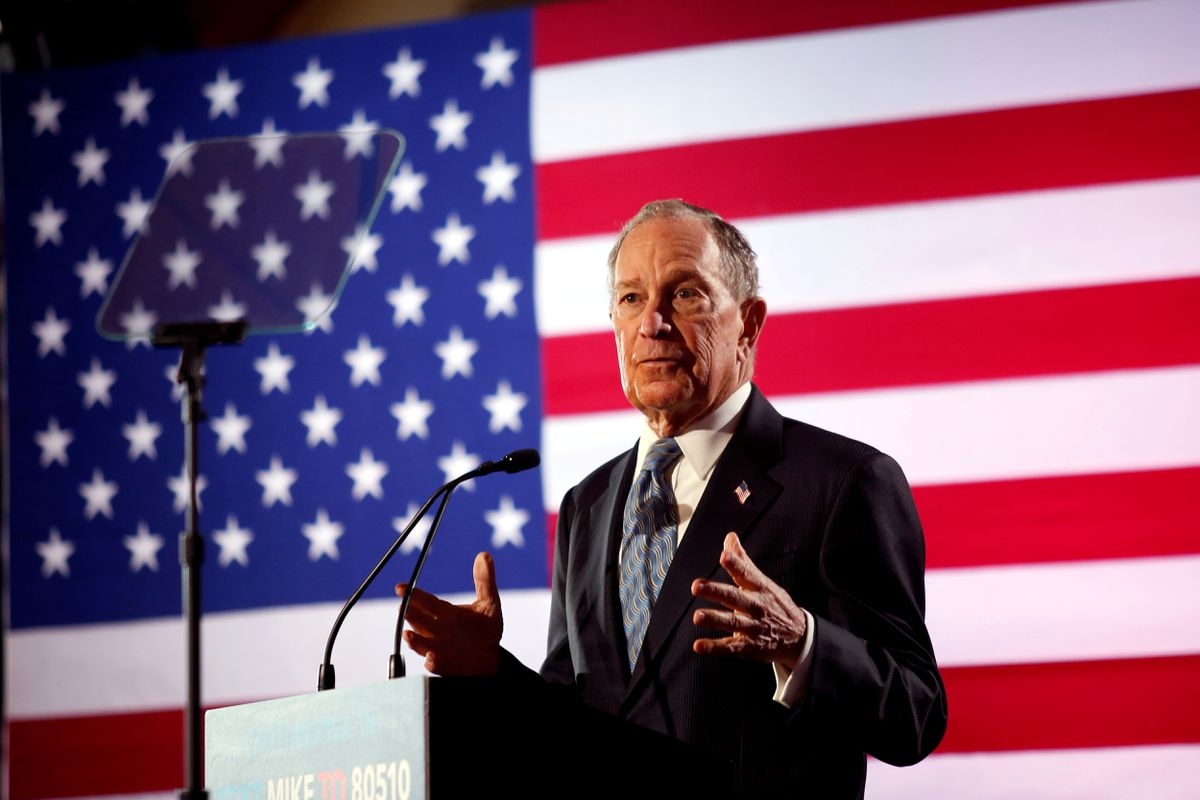 Michael Bloomberg surges with unconventional presidential campaign