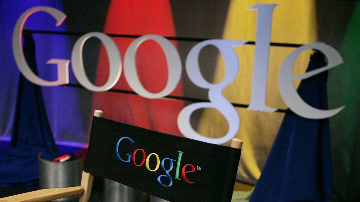 A Google sign inside Google headquarters is seen in Mountain View, Calif., in this May 30, 2007 file photo.