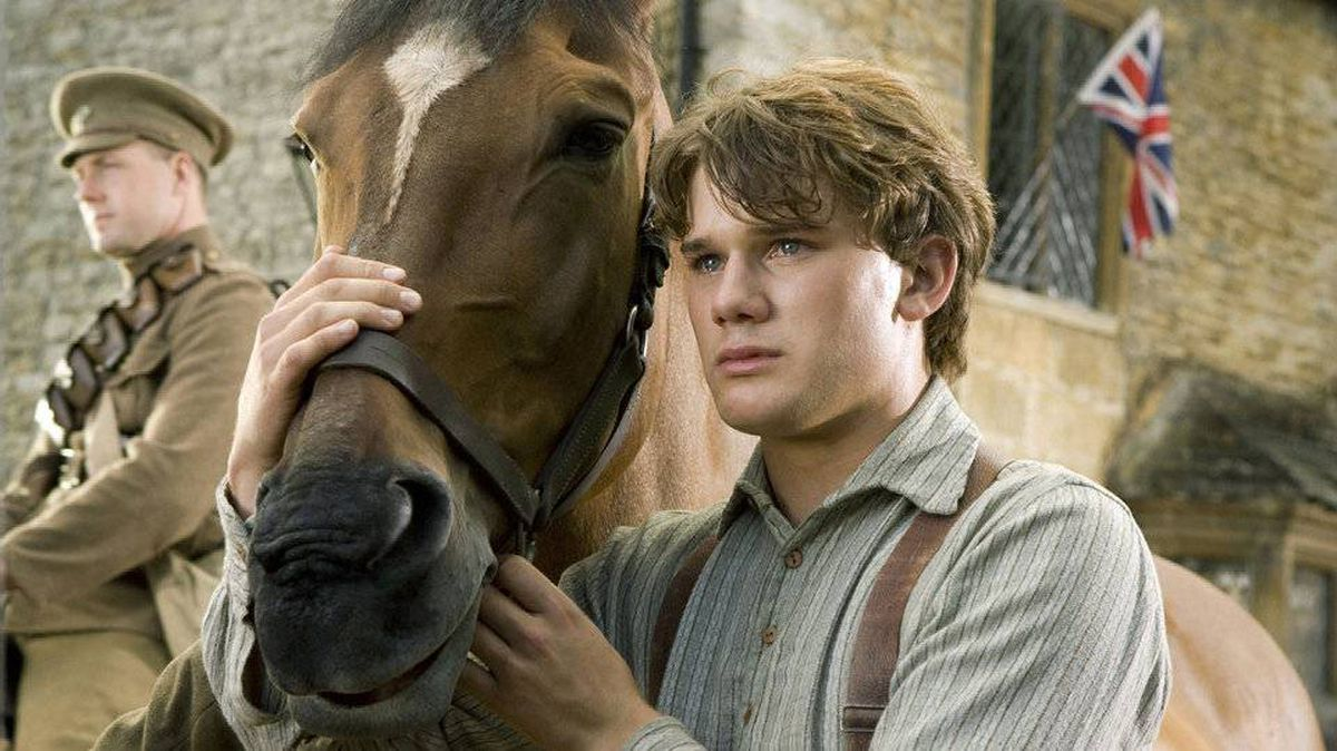Jeremy Irvine stars in War Horse. The film was nominated Tuesday, Jan. 24, 2012 for an Oscar for best film.