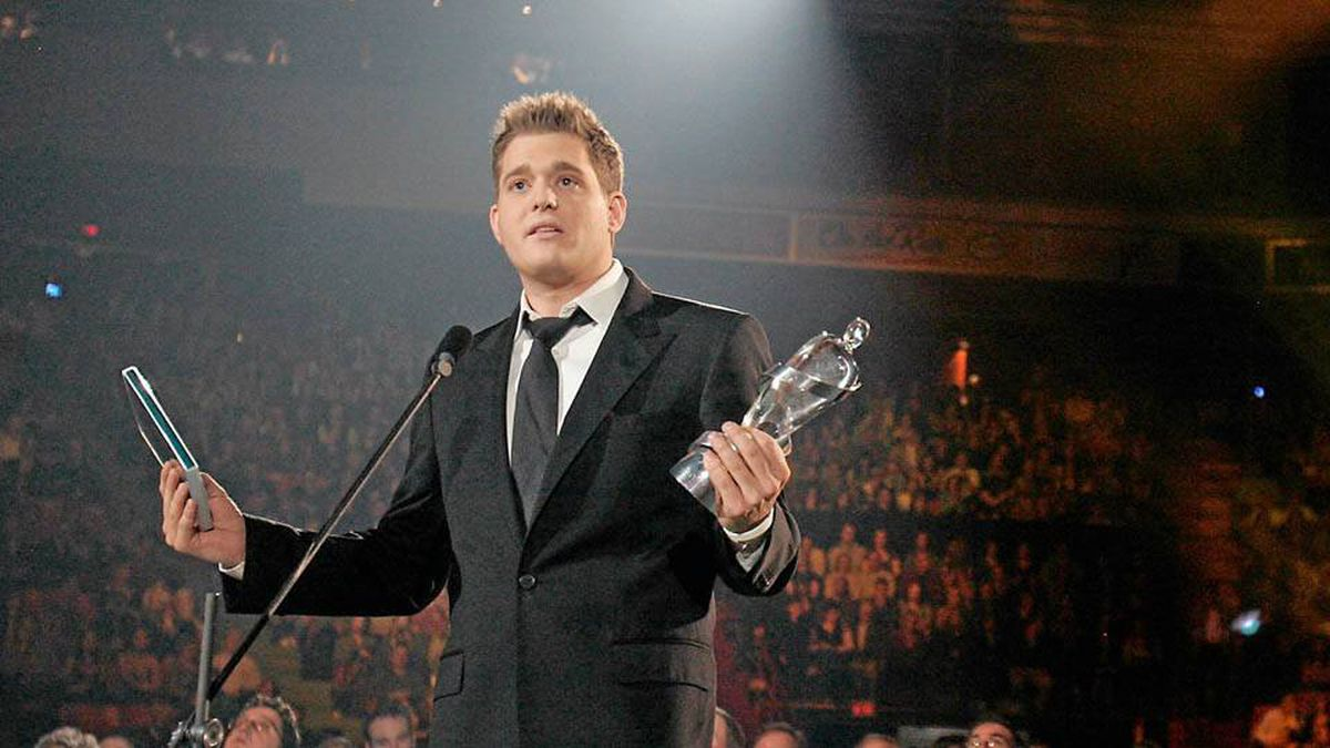 """Michael Buble is the Juno Fan Choice for 2010. He also won Album and Pop Album of the Year for Crazy Love and Single of the Year for """"Haven't Met You Yet."""" The ceremony, held in St. John's, galvanized the music community."""
