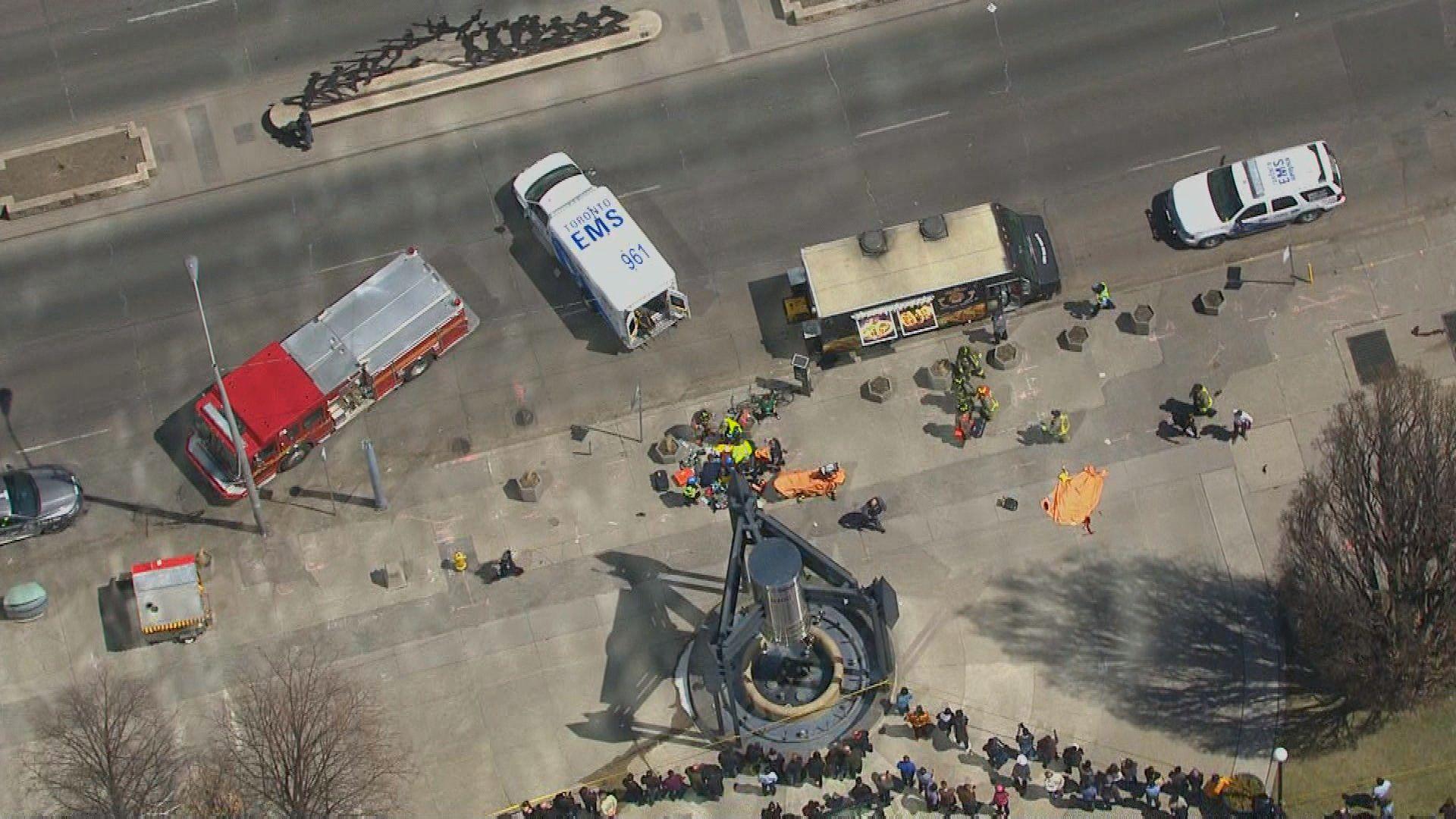 7c7b512376 Twenty-five minutes of horror on Yonge Street  How the Toronto van attack  unfolded