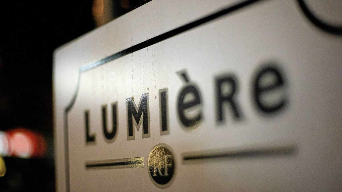 Lumiere restaurant in Vancouver.