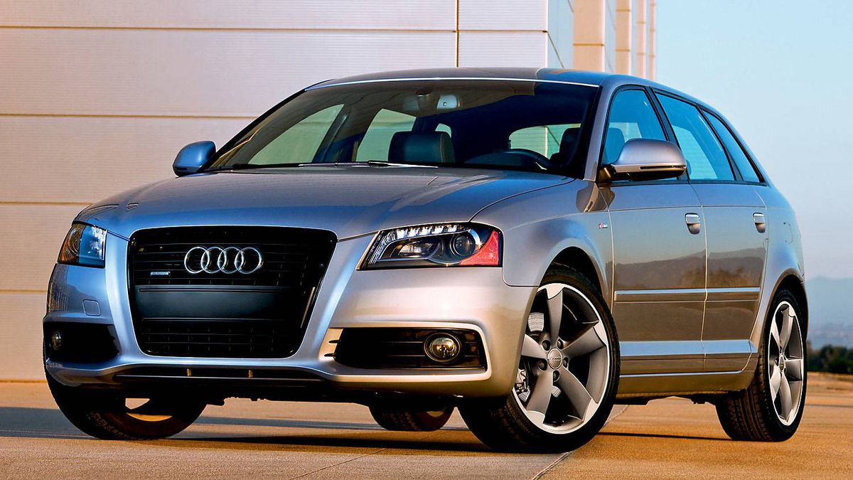 Audi A3 ($34,100 base): A nimble and comfortable small hatchback, the A3 is the entry-level car in Audi Canada's lineup.