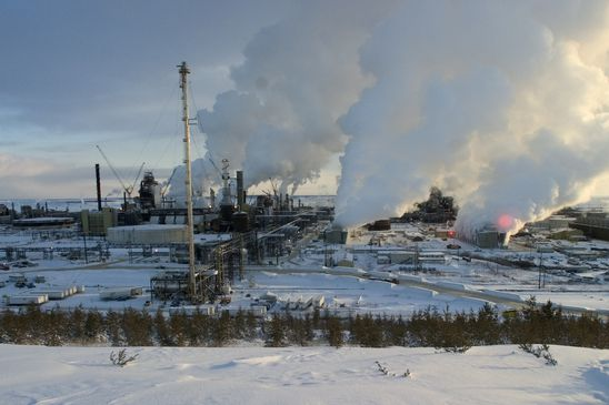 Western Canada cold snap disrupting oil production and refining