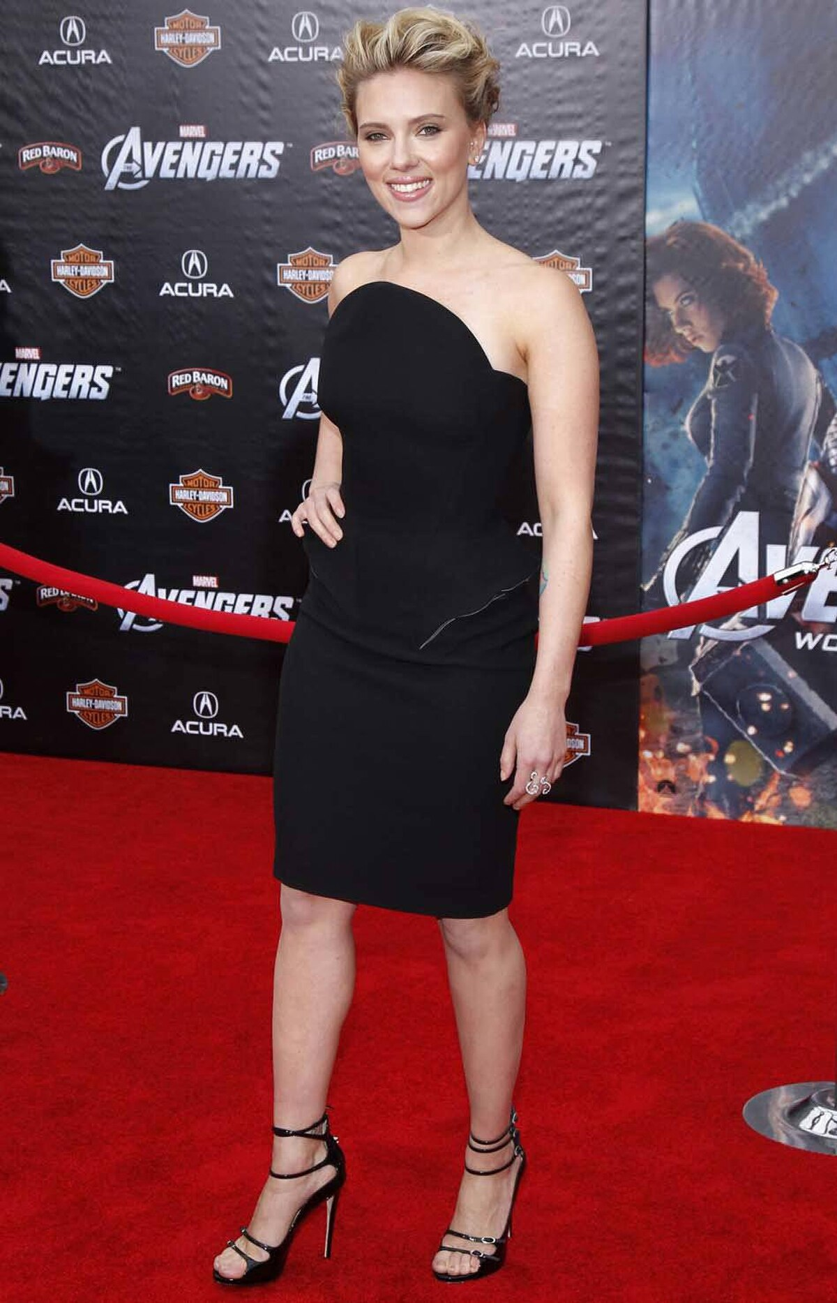"Scarlett Johansson was the picture of class and poise at the premiere of ""Marvel's The Avengers"" in Hollywood last week."