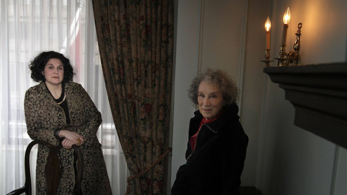 Documentary director Jennifer Baichwal and Canadian writer Margaret Atwood
