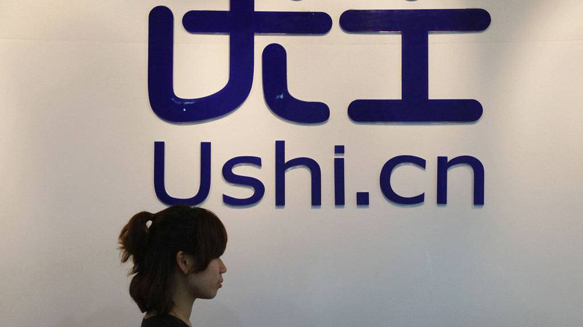 A employee is seen at the Ushi Office in Shanghai May 30, 2011. In a country where being connected is seen as crucial, Ushi, China's answer to LinkedIn, expects explosive growth over the next few years in the world's largest Internet market.