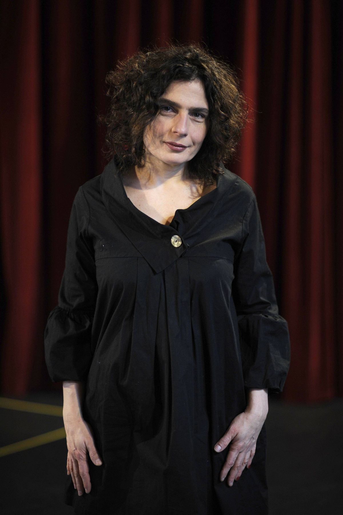 Arsinee Khanjian is photographed during a break in rehearsals on Jan 13, 2012.