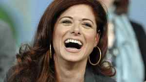 "Debra Messing at the panel discussion for the drama series ""Smash"" at the Television Critics Association Winter Press Tour in Pasadena, Calif., on Friday, Jan. 6, 2012."