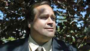 Evangelical Christian activist Charles McVety is shown outside his Toronto office on May 26, 2005.