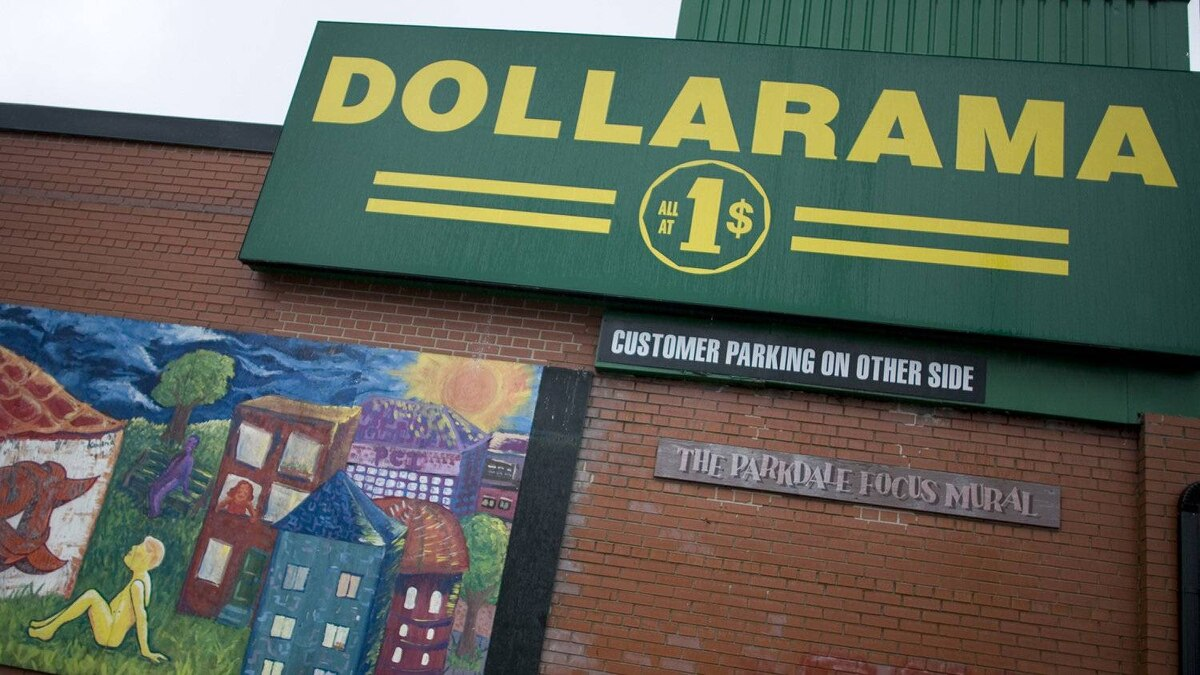 Almost half – 48 per cent – of sales at Dollarama in the second quarter were from products sold for more than $1, chief operating officer Stéphane Gonthier told analysts.