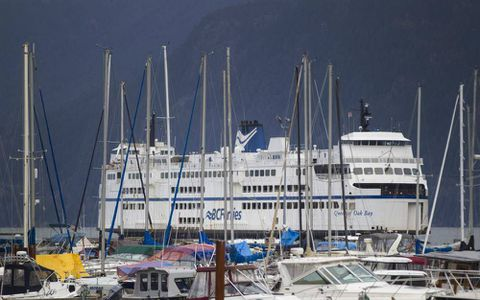 Five builders competing for contract to build three LNG-powered ships for BC Ferries