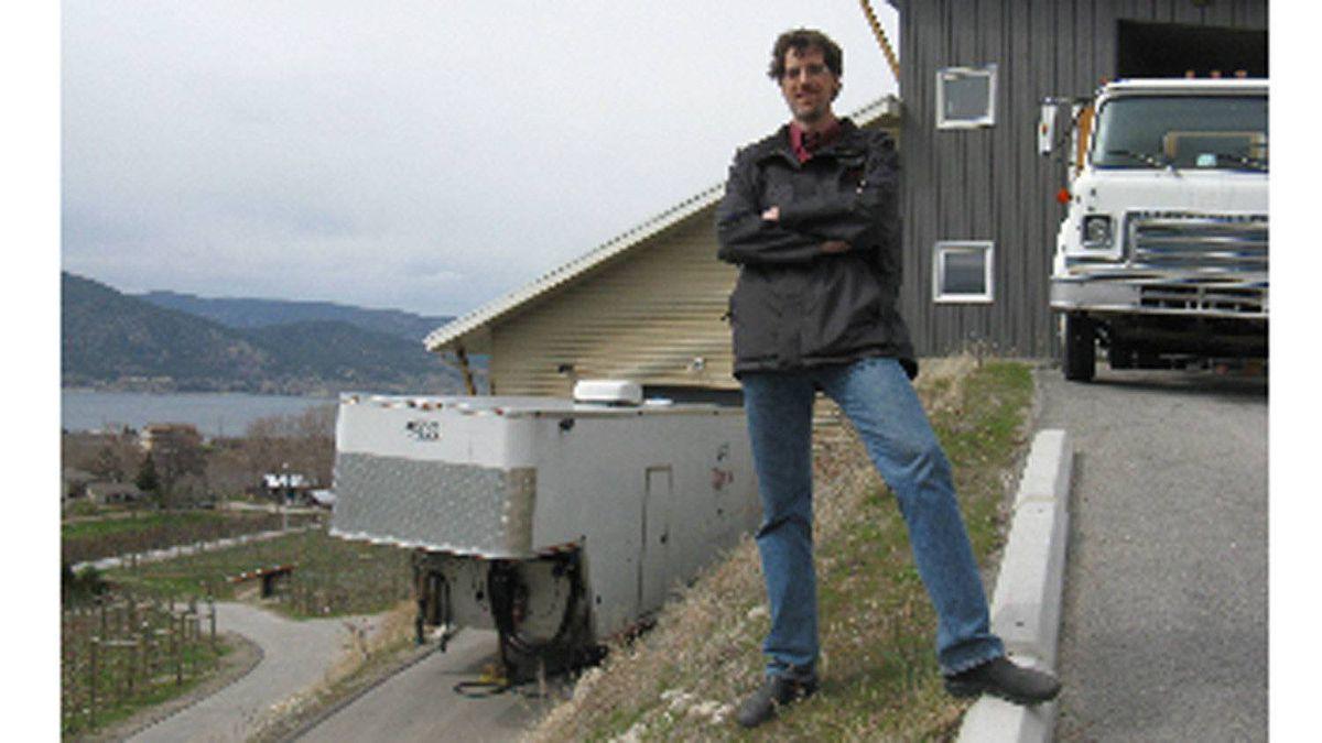 Norm Cole of Artus Bottling, based in Naramata, B.C.