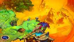 A screenshot from Microsoft's Summer of Arcade's Bastion