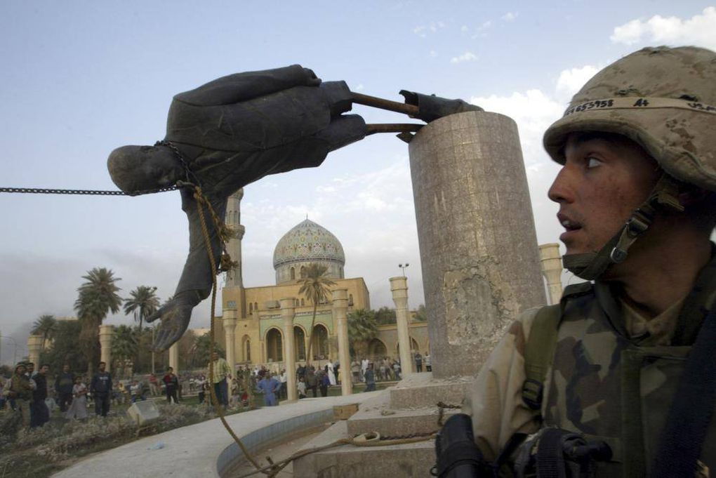 an analysis of war in iraq and ending of saddam husseins grip on power How could we have been so far off in our estimates of saddam hussein's  threatened his grip on power  that the case for war with iraq was.
