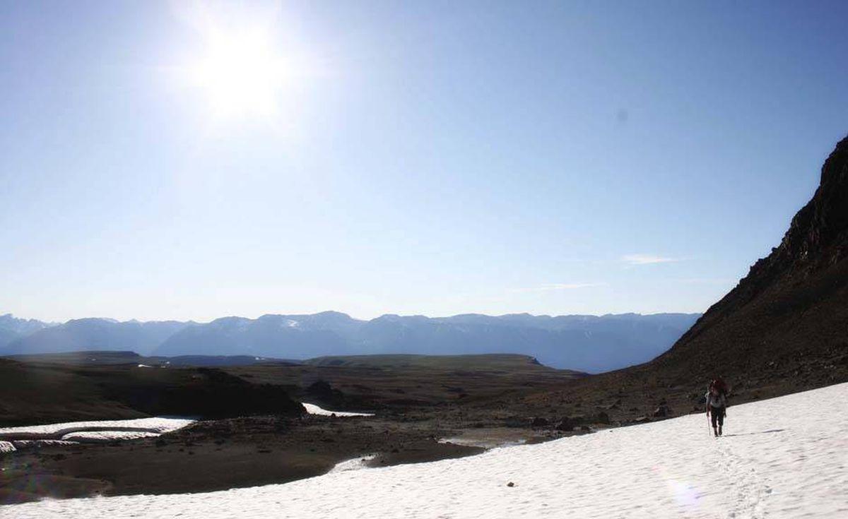 The plateau at Mount Edziza in the Stikine region of northwestern B.C.
