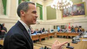 Bank of Canada governor Mark Carney appears at a Commons finance committee on Parliament Hill in Ottawa on Tuesday, April 24, 2012.