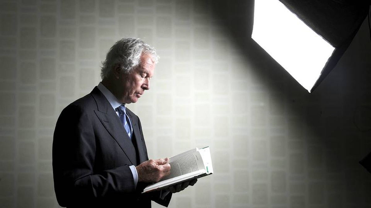 Former Canadian ambassador Ken Taylor.
