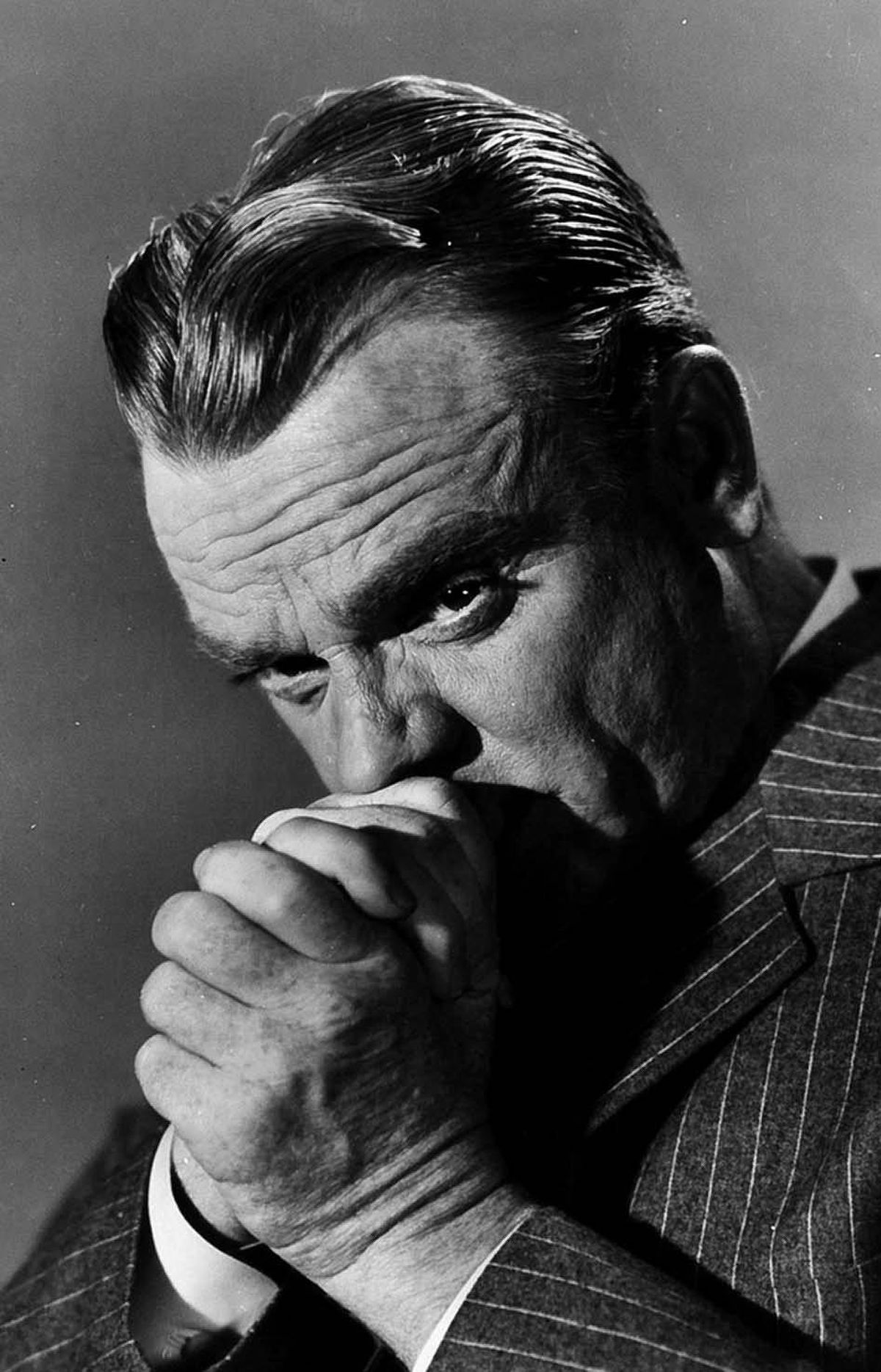MOVIE Man of a Thousand Faces TCM, 11 p.m. ET; 8 p.m. PT The late James Cagney delivers an endearing performance in this 1957 biopic of silent-film star Lon Chaney, best known for his screen portrayals of The Phantom of the Opera and The Hunchback of Notre Dame. The film depicts Chaney's early days and his marriage to the flighty cabaret singer Cleva (Dorothy Malone). When Cleva walks out on Chaney and their newborn son, the vaudevillian turns to his only available source of income: Hollywood, where his uncanny gift for disguise enables him to play several roles in the same film. Watch for a young Robert Evans as studio boss Irving Thalberg.