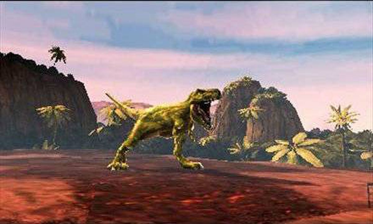 Combat of Giants: Dinosaurs 3D: This reptilian fighter has players select and customize a great lizard before heading out into the jungles and deserts of the Jurassic period to wage war against the Arkosaurus, a powerful predator threatening the extinction of all other species.