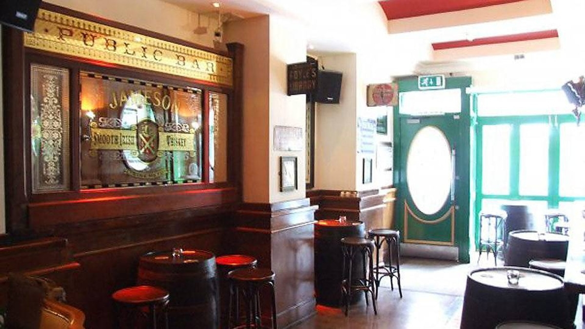 Singing, dancing and shots of Jameson are practically compulsory at Peader Kearney's pub in Dublin.