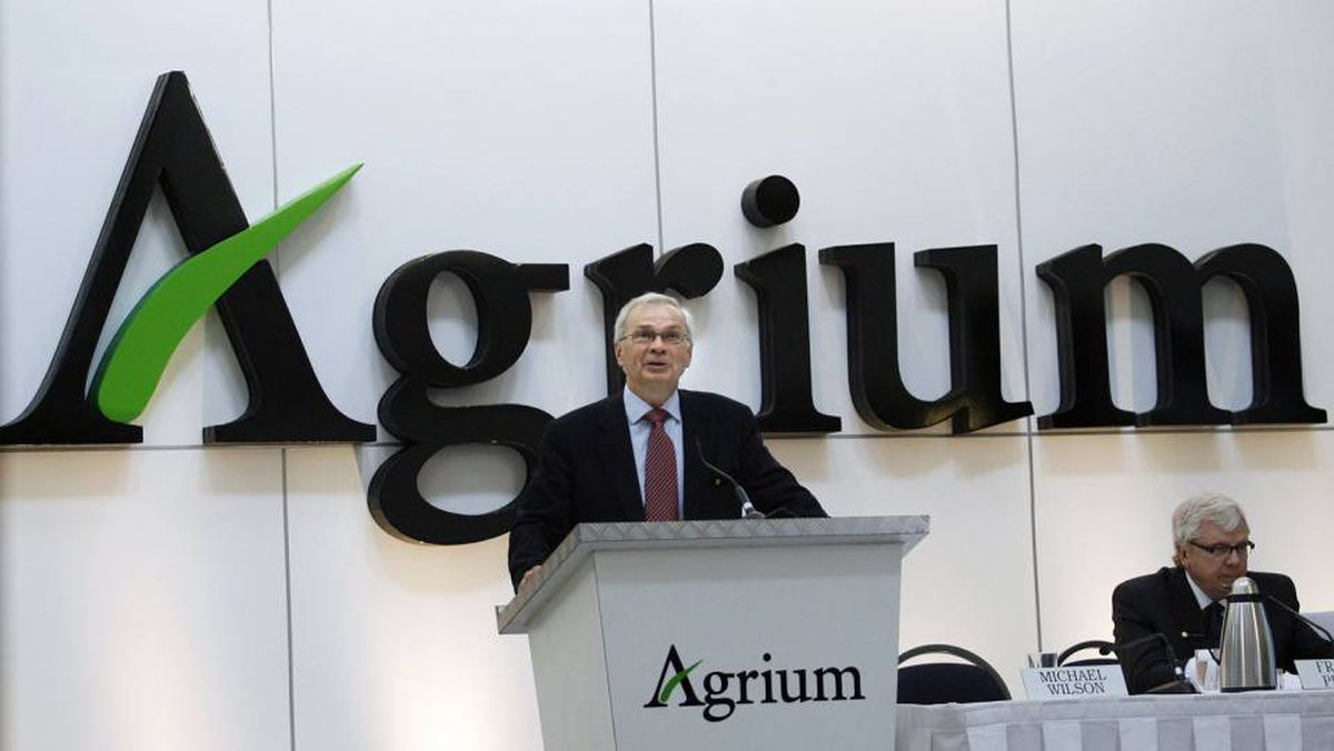 Mike Wilson, Agrium CEO