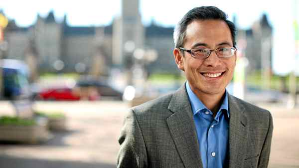 Newly elected Liberal MP Ted Hsu photographed in Ottawa.