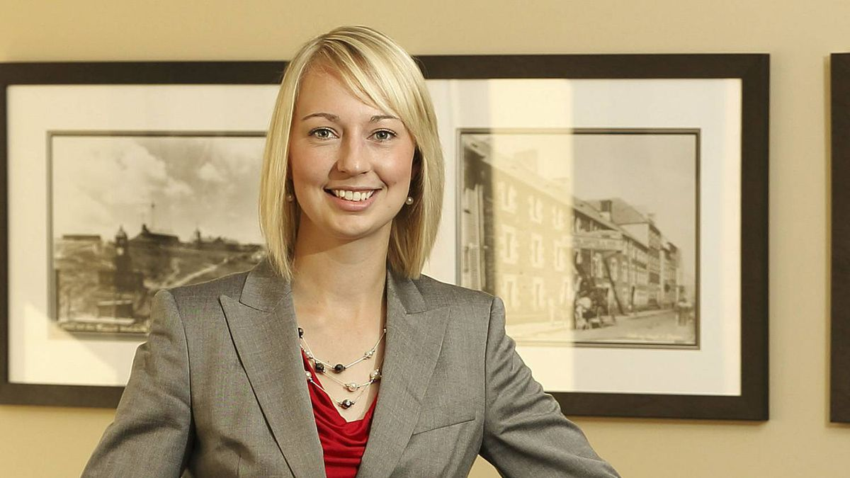 Student athlete and student leader Christie Lang earns social capital along with her degrees.