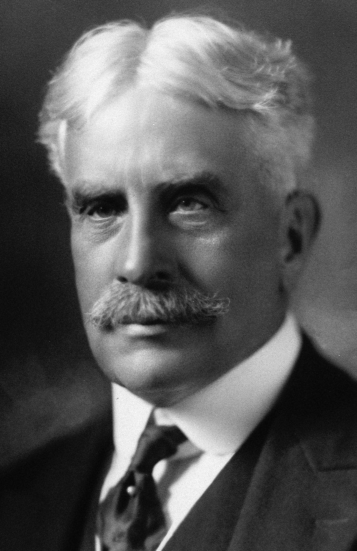 Sir Robert Borden is shown in an undated file photo.