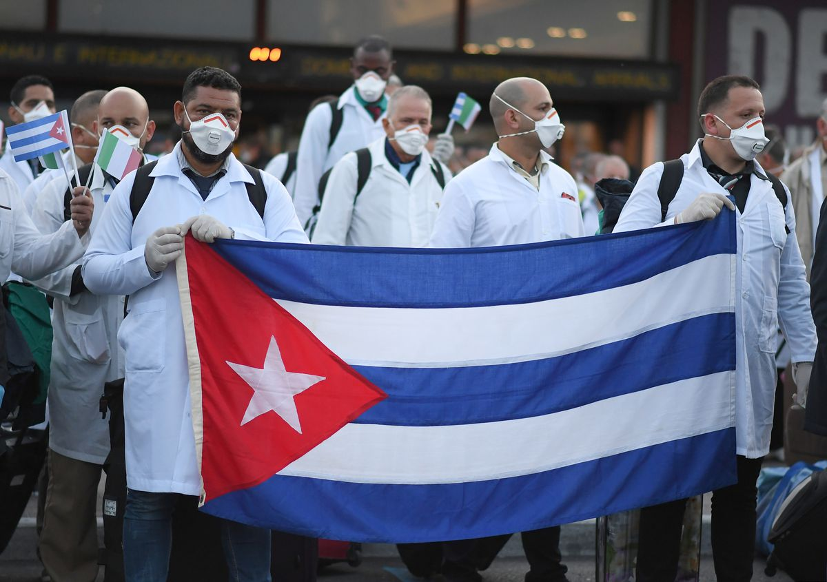 Cuban doctors head to Italy to battle coronavirus