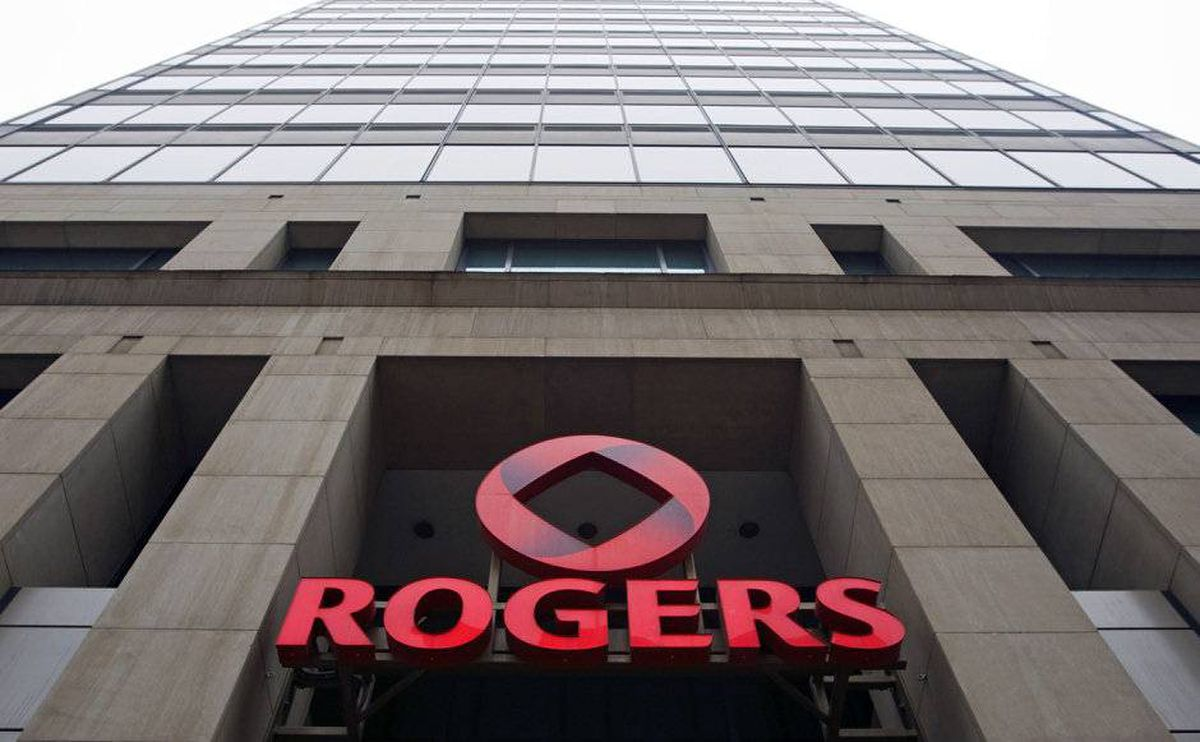 A Rogers Communications Inc. office tower is seen in downtown Montreal, March 6, 2009.