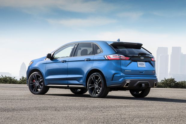 The Ford Edge St Adds Excitement To A Very Capable Vehicle But The Price Puts It Perilously Close To Premium Suv Alternatives