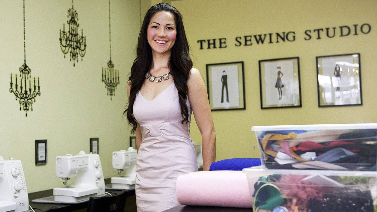 Denise Wild, owner of Love Sewing and the Sewing Studio