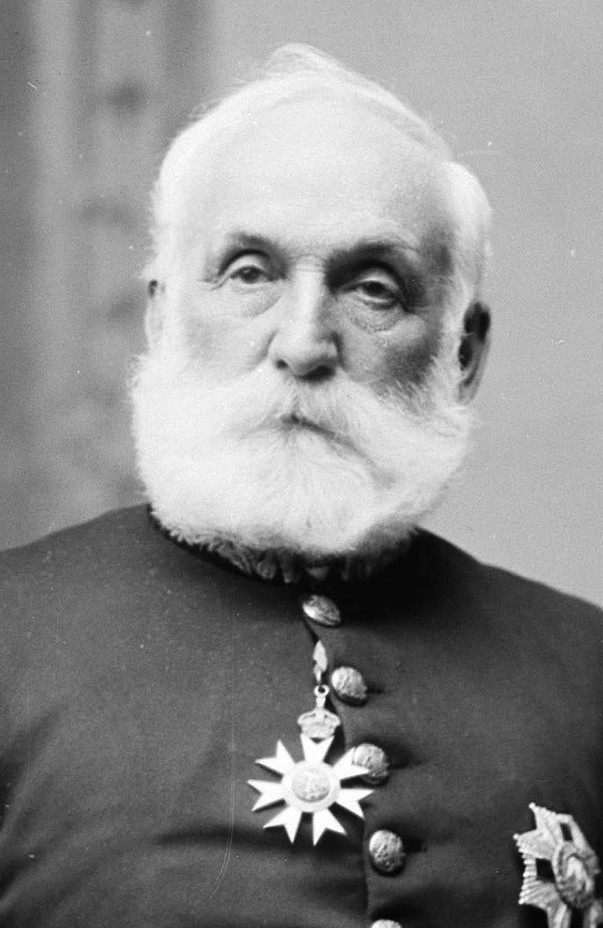 Sir Mackenzie Bowell is shown in an undated file photo.