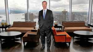 Donald Lindsay, President and Chief Executive Officer of Teck Resources Limited, in Teck's downtown Vancouver office.