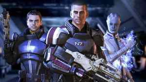 "A screen grab of a scene of ""Mass Effect 3"""