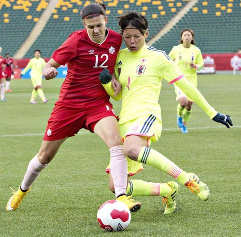 Canada draws challenging group for Women's World Cup