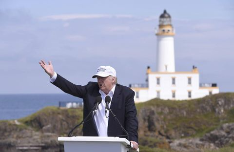 Donald Trump faces financial setback: Scottish Golf resorts suffer heavy losses""